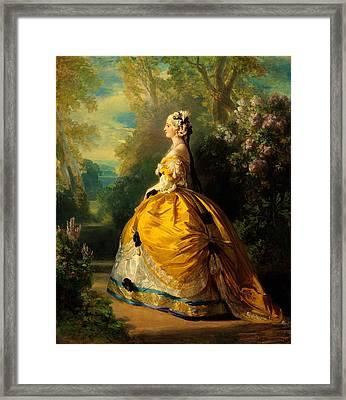 The Empress Eugenie Framed Print