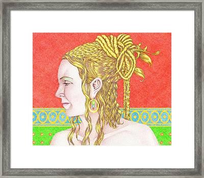 The Empress Framed Print by Jack Puglisi