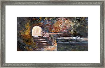 The Empty Tomb Framed Print