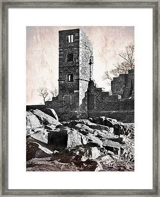The Empty Tower Framed Print by Linsey Williams