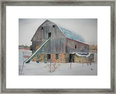 The Enchanted Barn Framed Print