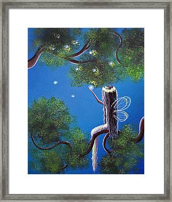 The Enchanted By Shawna Erback Framed Print by Shawna Erback