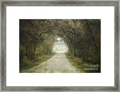The Enchanted Corner Framed Print by Keith Bell