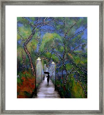 The Enchanted Woods Framed Print