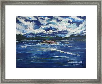 The Enchanting Sea  Framed Print by Lori  Lovetere