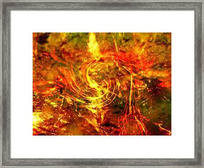 The End - 12/21/2012 - Horrific Hallucination Framed Print by J Larry Walker