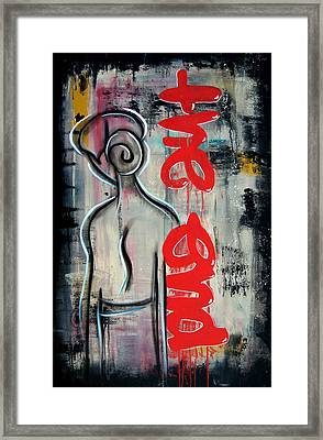 The End By Fidostudio Framed Print