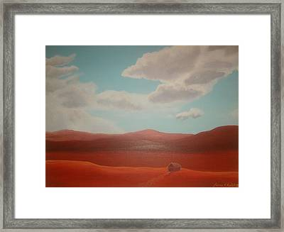 The End Framed Print by James Violett II
