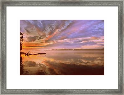 The End Framed Print
