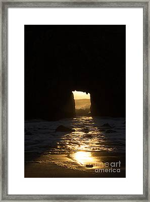 The End Of A Day Framed Print by Suzanne Luft