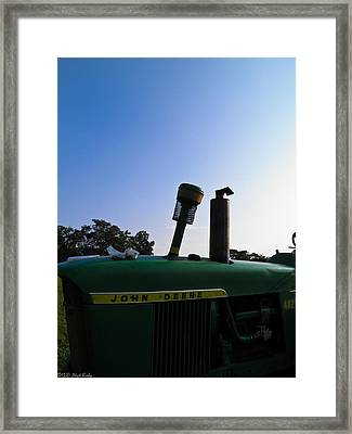 The End Of A Long Day Framed Print by Nick Kirby