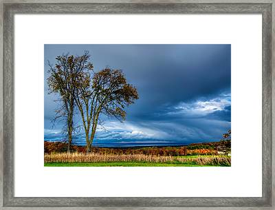 The End Of A Rainy Day Framed Print