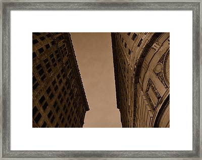 The End Of Mankind Framed Print