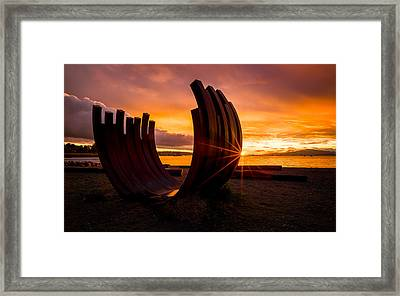 The End Of Summer Framed Print by Alexis Birkill