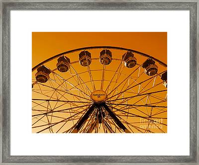 The End Of Summer Framed Print by Patricia Strand