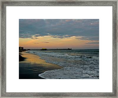 The End Of The Day Framed Print by Eve Spring