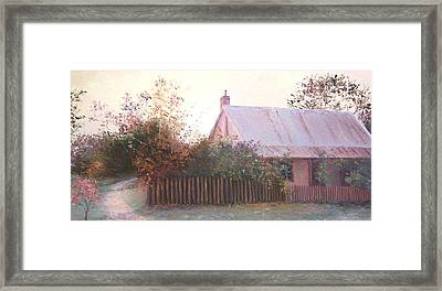 The End Of The Day Framed Print