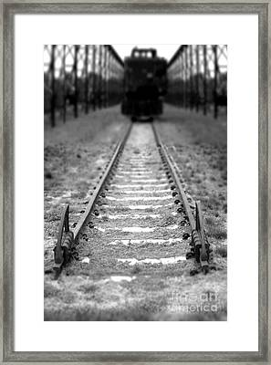 The End Of The Line Framed Print by Olivier Le Queinec
