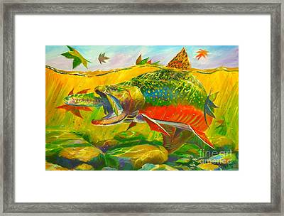 The End Of The Rainbow  Framed Print by Yusniel Santos