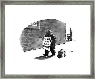 The End Of The Week Is Coming! Framed Print by John Jonik