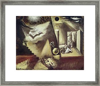 The End Of The World, C.1929 Oil On Canvas Framed Print by Amedee de La Patelliere