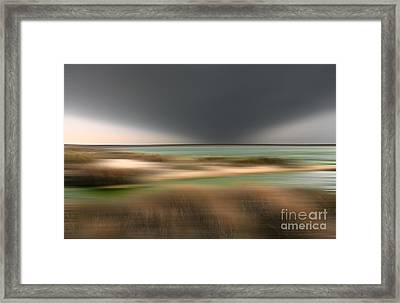 The End Of Time - A Tranquil Moments Landscape Framed Print by Dan Carmichael