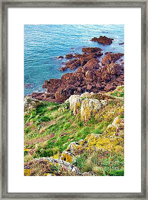 The End Framed Print by Olivier Le Queinec