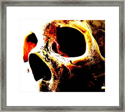 'the Energy Remains' Framed Print by Night Maher