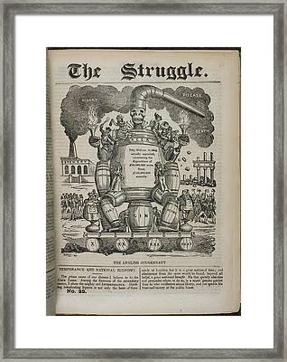 The English Juggernaut Framed Print by British Library