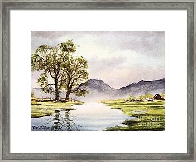 The English Lake District Framed Print