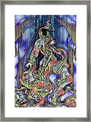 The Enlightened Framed Print