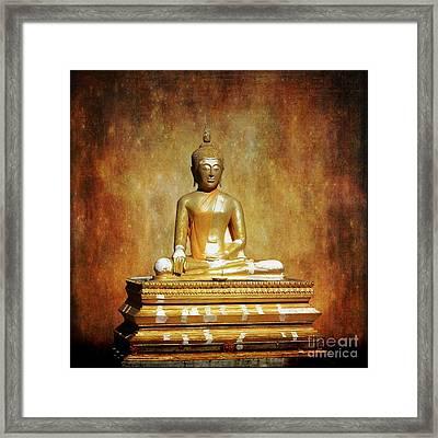 The Enlightened One Framed Print