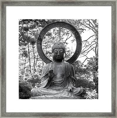 The Enlightened One Framed Print