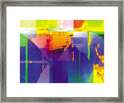 Framed Print featuring the painting The Entanglement 1 by The Art of Marsha Charlebois