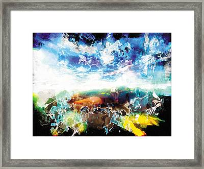 Framed Print featuring the painting The Entanglement 2 by The Art of Marsha Charlebois