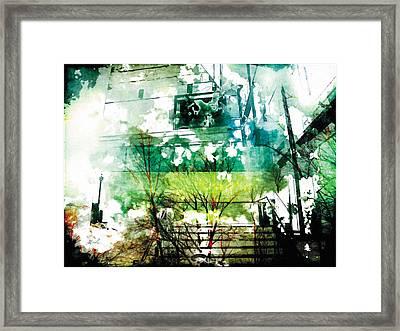 The Entanglement 6 Framed Print by The Art of Marsha Charlebois