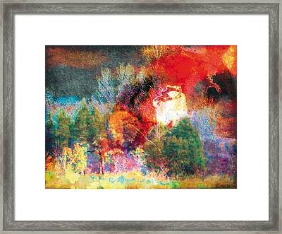 Framed Print featuring the photograph The Entanglement 7 by The Art of Marsha Charlebois