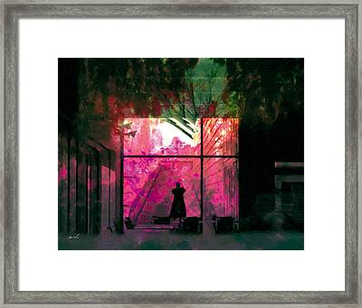 Framed Print featuring the photograph The Entanglement 8 by The Art of Marsha Charlebois