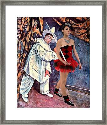 The Entertainers Framed Print