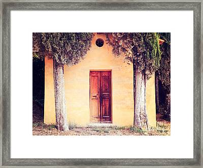 The Entrance Framed Print by Matteo Colombo