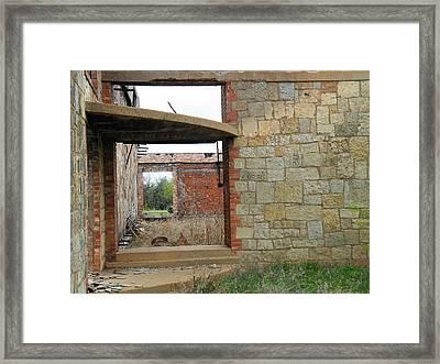 The Entry Hall Framed Print