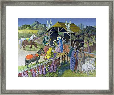 The Epiphany, 1987 Framed Print by Osmund Caine