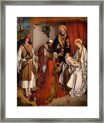 The Epiphany Framed Print
