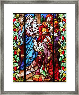 The Epiphany Of Our Lord Framed Print