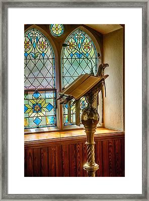 The Epistle Side Framed Print