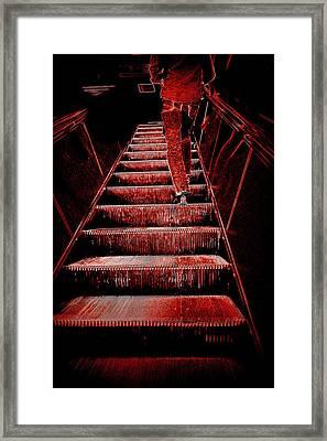 The Escalator Framed Print