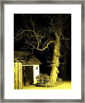 The Escape Door Framed Print by Sharon Costa