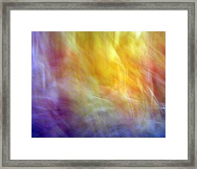 The Escape From Heaven Framed Print by Munir Alawi