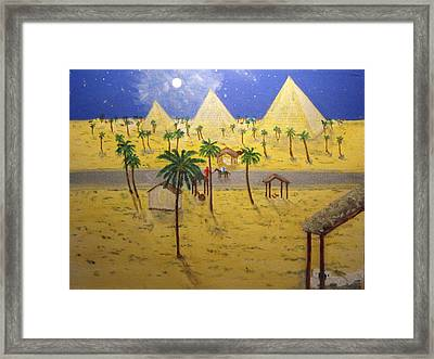 The Escape To Egypt Framed Print