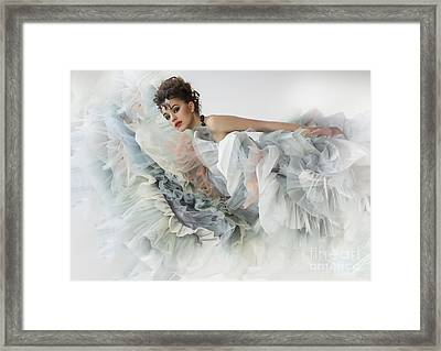 Framed Print featuring the photograph The Ese Of by Evgeniy Lankin